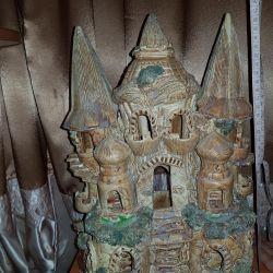 Castle, grotto for aquarium