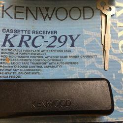 Radio-cassette recorder Kenwood KRC-29Y