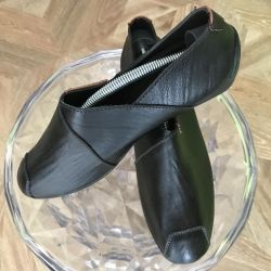 DISCOUNT 20%! Closed leather shoes