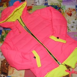 Jacket with ears children's on the girl NEW