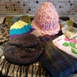 Hats, scarves, bandanas