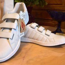 Δερμάτινα πάνινα παπούτσια δερμάτινων αθλημάτων Lee Coop cooper