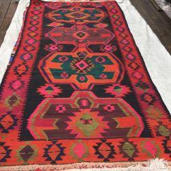 Vintage kilim. Eastern rug kilim
