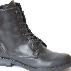 Γυναικείες δερμάτινες μπότες του Francesco Donni