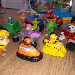 Paw Patrol whole collection