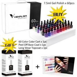Venalisa gel polish set 7.5ml 60pcs