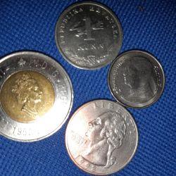 Нумизматам монеты.