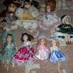 porcelain doll set