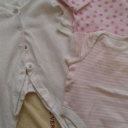 Body / slips and other for 0-3mes (girl) ..