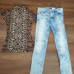 Продаю комплект джинсы и кофточка