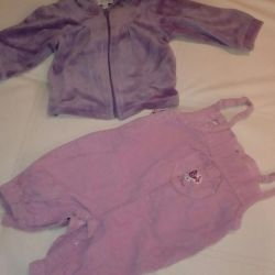 Beautiful suit 3-6mes + gift