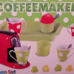 Новая игрушечная кофемашина