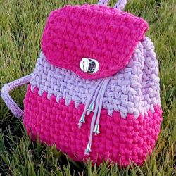 Knitted Backpack