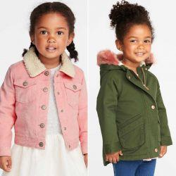 Κορίτσι 1,5-8 ετών παλτό σακάκι Parka Carters