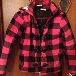 Jacheta de haina calda pentru fata
