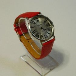 Geneva watches red, classic