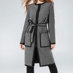 Wool coat, new!