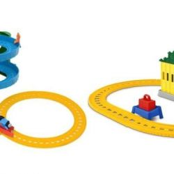 Set Thomas Friends Speed ​​descent + Depot (2in1)
