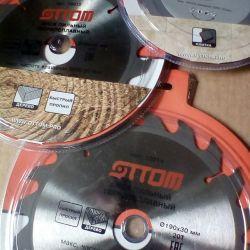 Tahta ve taş için kesme diskleri