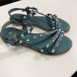Smarald sandale