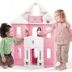 Trei poveste Barbie Toy House