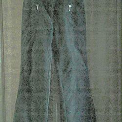 Fleece water-repellent trousers
