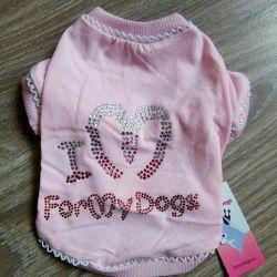 Pembe tişört (köpek kıyafetleri)