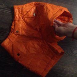 Winter shorts on sintepon