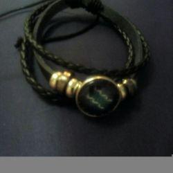 Stylish bracelet with a zodiac sign