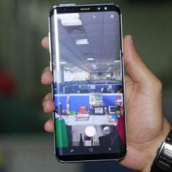 New Samsung Galaxy S8 plus, black
