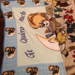 Bebek battaniyeleri 2 adet.