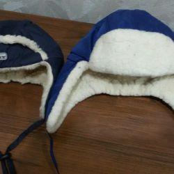 Kış çocuk şapkaları