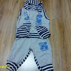 set (vest and breeches)