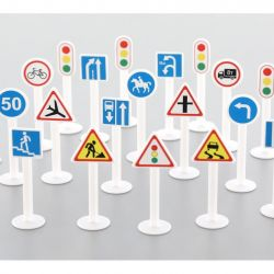 Traffic signs set - 20 items