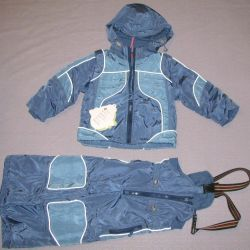 костюм комплект куртка комбинезон демисезон 86-104
