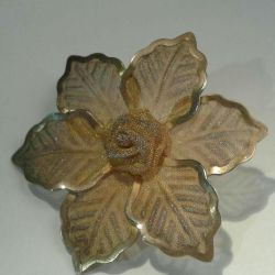 Brooches Poinsettia. Ρετρό. Η ΕΣΣΔ