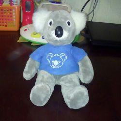 Soft toy. Koala.