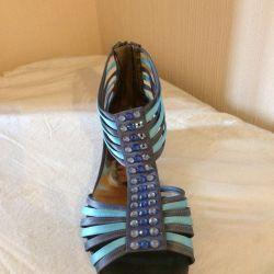 Sandals with rhinestones, Italy