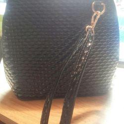 lacquered handbag new