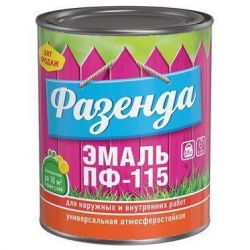 Enamel PF-115 0,9 kg (2,7 kg) Fazenda în sortiment