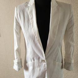 Λευκό σακάκι Zara
