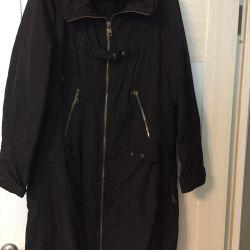 Heated raincoat