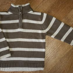 Striped brown sweater by TU. BOO