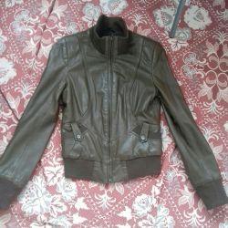 Куртка из натуральной кожи. Размер (S) 40-42