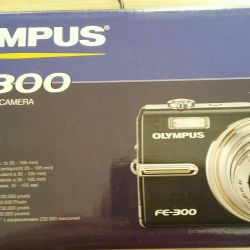 OLYMPOS camera.