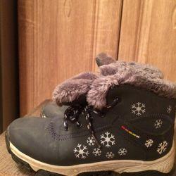 Winter sneakers warm