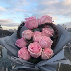 💕Bouquet of roses with Valentine💕