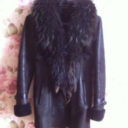 I sell a natural sheepskin coat bu
