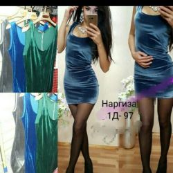 Платье бархат 42 новое