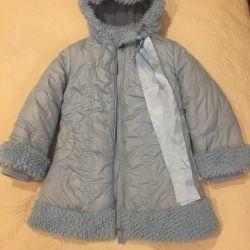 Fashionable winter coat for girls